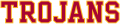 Southern California Trojans 2000-2015 Wordmark Logo 10 iron on transfer