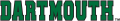Dartmouth Big Green 2000-Pres Wordmark Logo 02 iron on transfer