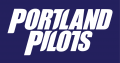 Portland Pilots 2006-2013 Wordmark Logo 02 decal sticker