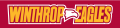 Winthrop Eagles 1995-Pres Wordmark Logo 05 decal sticker