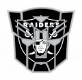Autobots Oakland Raiders logo iron on transfers