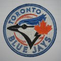 Toronto Blue Jays Logo Embroidered Iron On Patches