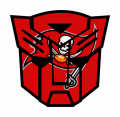 Autobots Tampa Bay Buccaneers logo iron on transfers