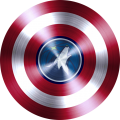 captain american shield with minnesota timberwolves logo iron on transfer