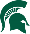 Michigan State Spartans 1977-Pres Primary Logo iron on transfer