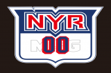 NYR MSG logo 02 iron on sticker