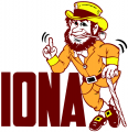 Iona Gaels 1982-2002 Primary Logo decal sticker