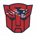 Autobots New England Patriots logo iron on transfers