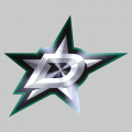 Dallas Stars Stainless steel logo iron on transfer
