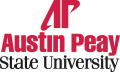 Austin Peay Governors 1992-2013 Alternate Logo iron on transfer