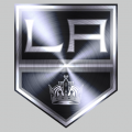 Los Angeles Kings Stainless steel logo iron on transfer
