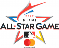MLB All-Star Game 2017 Sponsored decal sticker