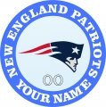 New England Patriots decal sticker