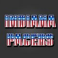 Indiana Pacers American Captain Logo iron on transfer
