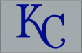Kansas City Royals 1995 Cap Logo iron on transfer