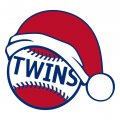 Texas Rangers Baseball Christmas hat decal sticker