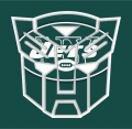 Autobots New York Jets logo iron on transfers