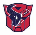 Autobots Houston Texans logo iron on transfers