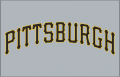 Pittsburgh Pirates 2001-Pres Jersey Logo 02 decal sticker