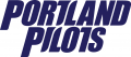 Portland Pilots 2006-2013 Wordmark Logo 03 decal sticker