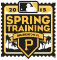 Pittsburgh Pirates 2015 Event Logo decal sticker