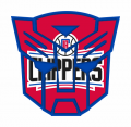 Autobots Los Angeles Clippers logo iron on transfers