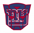 Autobots New York Giants logo iron on transfers