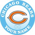 Chicago Bears decal sticker
