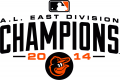 Baltimore Orioles 2014 Champion Logo decal sticker