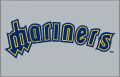 Seattle Mariners 1985-1986 Jersey Logo decal sticker