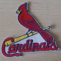 St. Louis Cardinals Logo Embroidered Iron On Patches
