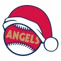 Los Angeles Angels of Anaheim Baseball Christmas hat decal sticker