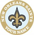 New Orleans Saints decal sticker
