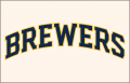 Milwaukee Brewers 2020-Pres Jersey Logo 02 iron on transfer