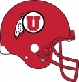 Utah Utes 2015-Pres Helmet decal sticker