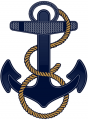 Navy Midshipmen 2012-Pres Alternate Logo iron on transfer