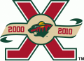Minnesota Wild 2010 11 Anniversary Logo iron on transfer