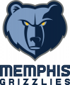 Memphis Grizzlies 2019-Pres Primary Logo decal sticker