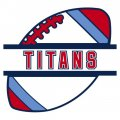 Football Tennessee Titans Logo iron on transfer