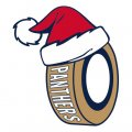 Florida Panthers Hockey ball Christmas hat iron on transfer