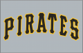 Pittsburgh Pirates 1985-1989 Jersey Logo decal sticker