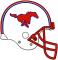 SMU Mustangs 2008-Pres Helmet decal sticker