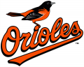 Baltimore Orioles 2009-2018 Primary Logo decal sticker