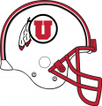 Utah Utes 2014-Pres Helmet decal sticker