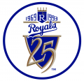 Kansas City Royals 1993 Anniversary Logo iron on transfer