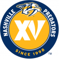 Nashville Predators 2013 14 Anniversary Logo iron on transfer