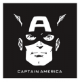 Captain America DIY decals stickers 14