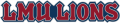 Loyola Marymount Lions2001-2007 Wordmark Logo iron on transfer