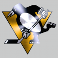 Pittsburgh Penguins Stainless steel logo iron on transfer