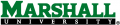Marshall Thundering Herd 2001-Pres Wordmark Logo 02 decal sticker
